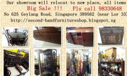 Our showroom will relocate to my warehouse on 14