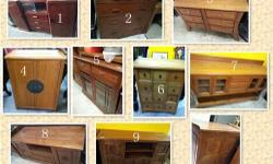 Moving sale Teakwood Cabinet/TV Console, free delivery,