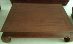 Moving sale Teakwood Coffee Table, 47*31.5*16 inch,