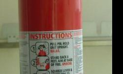 Multi-Purpose ABC Dry Chemical Fire Extinguisher -