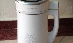 Brand new Joyoung multifunction soy milk maker. One of