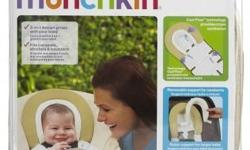 The Munchkin Dual Head Support has a 2 in 1 design that