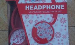 Brand new, red headphone Deal at AMK MRT