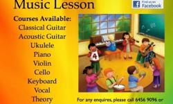 New registration for lessons commercing in July, August