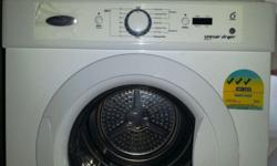 Electrolux Sensor Dryer 6 KG AWD612S on immediate sale.