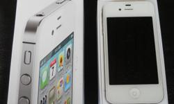 Must Sell, Like New!! Apple Iphone 4S 32GB White comes