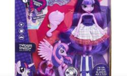My Little Pony Equestria Girl Twilight and Pony Set