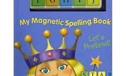 My Magnetic Spelling Book: Let's Pretend (Gobo Magnix
