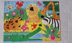 My Wild Animals Floor Puzzle Preloved Puzzles for non