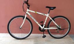 "Yes!! It is true. Clean white Sunny 26"" MTB for only"