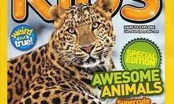 National Geographic Kids is a children's magazine