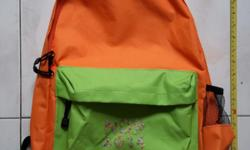Brand new NDP orange bag or backpack. Comes with the