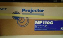 Brand new projector from NEC (Japan). In original box