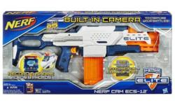 Get the Nerf Cam semi-auto instead of full auto