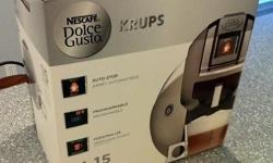 The new re-launch of the Nescafe Dolce Gusto Brewer