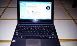 Netbook for sale - works perfectly. Windows 7