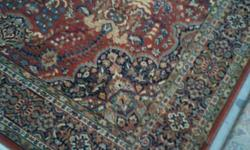 New 100% Wool pile carpet rugs made in the USA Size :