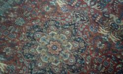 NEW 100% WOOL PILE CARPET CARPET RUG MADE IN USA BY