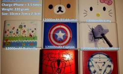 NEW! 12000mAh Special Custom Color! Limited Stock!