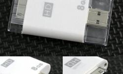 Features: Brand New 8GB USB Flash Memory Drive for iPad