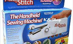 New Arrival Battery Operated Handy Stitch Sewing HANDY