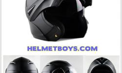 Now you can enjoy stylish flip up motorcycle helmet