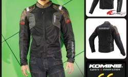 KOMINE latest motocycle riding gear collection: Mesh