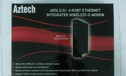 BRAND NEW All-in-one ADSL2/2+ wireless modem router