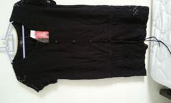 black sweater from Veeko (new with a price tag on,