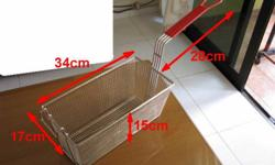 2 NEW Deep fryer basket for commercial fryer for