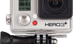 This is the GoPro hero 3+ silver edition. It is