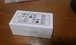 Sealed Iphone 5S Gold 16BG - Please give me a call if