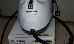 Brand New Karcher Steam Cleaner with full and bonus