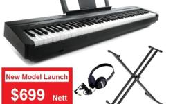 Special Bundle Price : $699 nett with FREE Yamaha