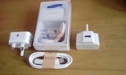 New Samsung USB Travel adapter with Micro USB cable,