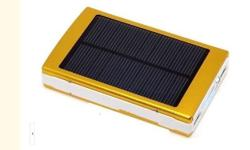 New! Solar Charger Power Bank! Fit for iPad/ iPhone/