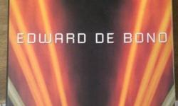 To millions of people world-wide, Edward de Bono's name
