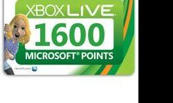 Redeem your points through the Xbox LIVE® Marketplace
