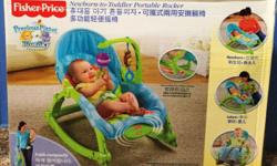 Newborn-To-Toddler Portable Rocker by Fisher Price