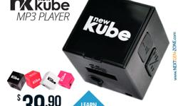 Introducing the newKube MP3 Player, a lifestyle product