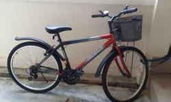 Very good bicycle for immediate sale. grip-handle gear