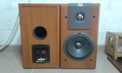 QUALITY SOUNDS OF JBL BOOKSHELF SPEAKERS BUILT IN