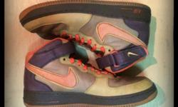 Nike Air Force 1 High sneakers. No shoe box. Size 10