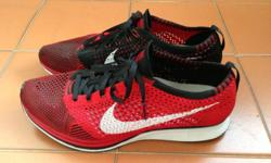 Nike Flyknit Racer Only worn twice Size US 9.5 (fits
