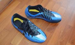 Nike, T90 Football field shoes Colour: Blue / black/