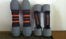 Brand new Nike Hand weights(1.4 kg) with cushioned
