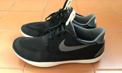 Brand New Nike Solarsoft Moccasin Black / Grey / White