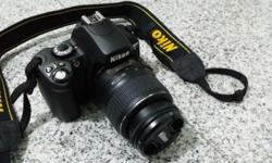 Nikon D40x 10.2MP Digital SLR Camera with 18-55mm