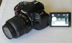 For sale Nikon D5100 DSLR Camera with 18-55mm f/3.5-5.6