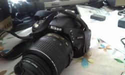 NIKON 5100 + 18-55 LENS WITH BOX INCLUDED THE
